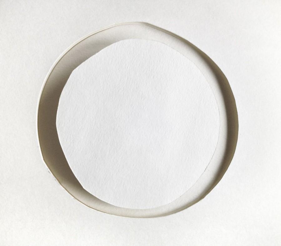My Daily Circle, 160513, papercut object, 13x13cm
